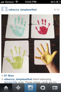 Such a great idea for scrapbooking!  Maybe at the beginning of Cam's Kindergarten scrapbook.